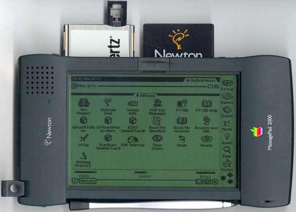 Apple Newton Los 9 fracasos tecnológicos más sonados