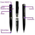 Bolígrafo espía para seguridad encubierta