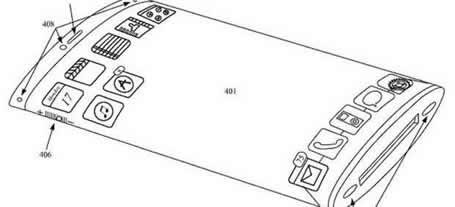Apple patenta un dispositivo 3D flexible y sin botones físicos