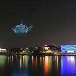 Spaxels, drones para dibujar en el aire