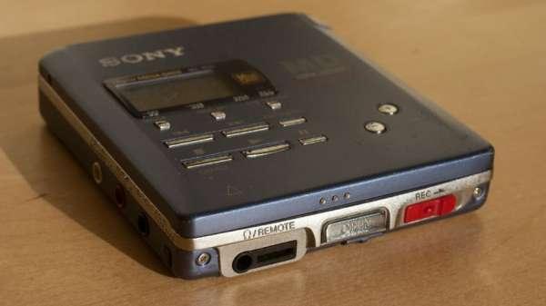 Mini Disc Los 9 fracasos tecnológicos más sonados