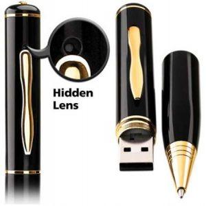 Cámara espía en bolígrafo