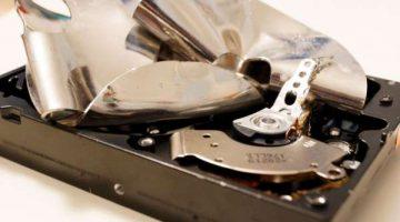 ¿Cómo puedo destruir un disco duro totalmente?