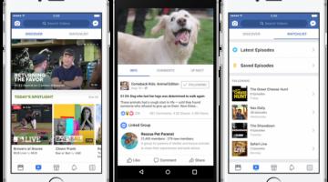 Ya podemos usar Facebook Watch en España